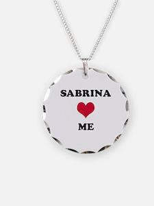 Sabrina Loves Me Necklace