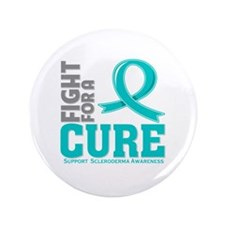 "Scleroderma Fight For A Cure 3.5"" Button"