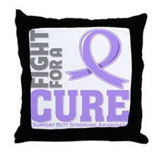 Rett Syndrome Fight For A Cure Throw Pillow