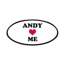 Andy Loves Me Patch
