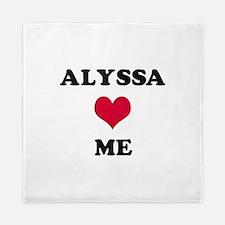 Alyssa Loves Me Queen Duvet