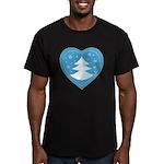 Merry Christmas Men's Fitted T-Shirt (dark)