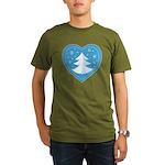 Merry Christmas Organic Men's T-Shirt (dark)