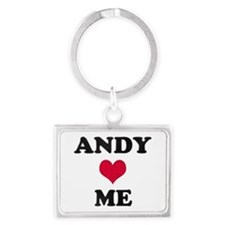 Andy Loves Me Landscape Keychain