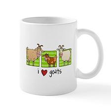 3 goats magnet Mugs