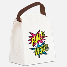 Fun Wow Canvas Lunch Bag