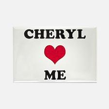 Cheryl Loves Me Rectangle Magnet