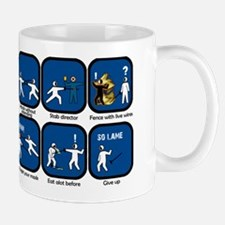 Lame Fencing Academy Mug