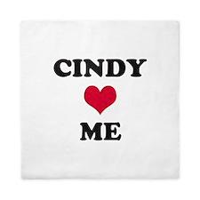 Cindy Loves Me Queen Duvet