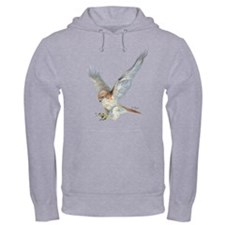 striking Red-tail Hawk Hoodie