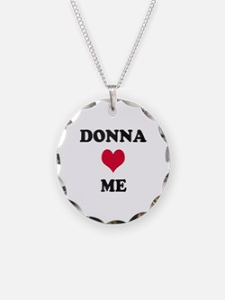 Donna Loves Me Necklace