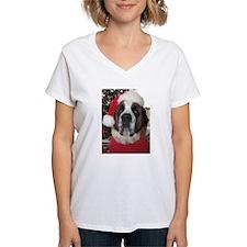 St. Bernard Santa Shirt