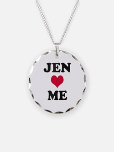 Jen Loves Me Necklace