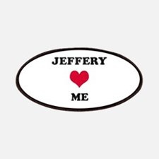 Jeffery Loves Me Patch