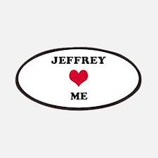 Jeffrey Loves Me Patch