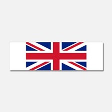Funny English flags Car Magnet 10 x 3