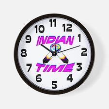 NATIVE AMERICAN CLOCK Wall Clock