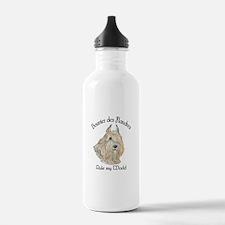 Bouvier des Flandres Wheaten Water Bottle