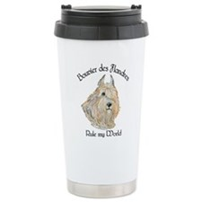 Bouvier des Flandres Wheaten Travel Mug