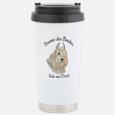 Bouvier des Flandres Wheaten Travel Mug