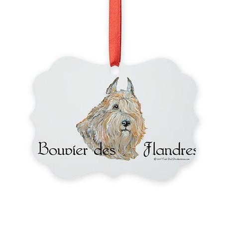 Bouvier Sweetie Picture Ornament