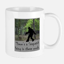 SASQUATCH LIVING IN THESE WOODS Mug
