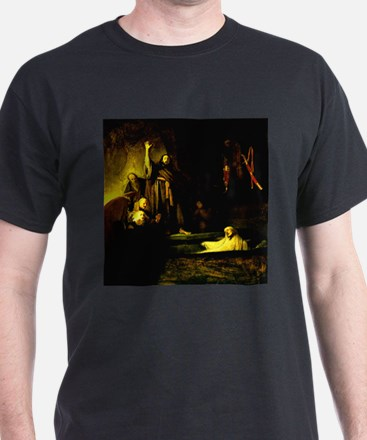 Raising of Lazarus Rembrandt T-Shirt