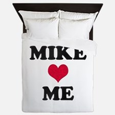 Mike Loves Me Queen Duvet