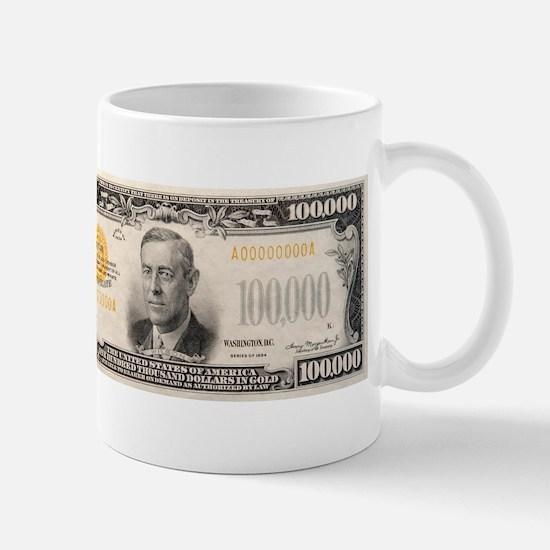 $100,000 Note Mug