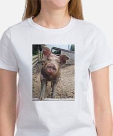 Funny Muddy Red Pig Tee