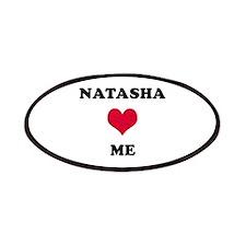 Natasha Loves Me Patch