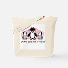 Cute Big sister of twins Tote Bag