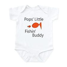 Pops Lil Fishin Buddy.png Infant Bodysuit