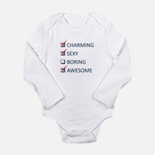 Charming Sexy Awesome Long Sleeve Infant Bodysuit