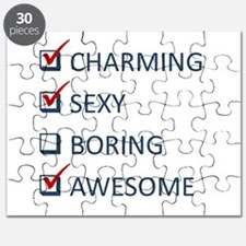 Charming Sexy Awesome Puzzle