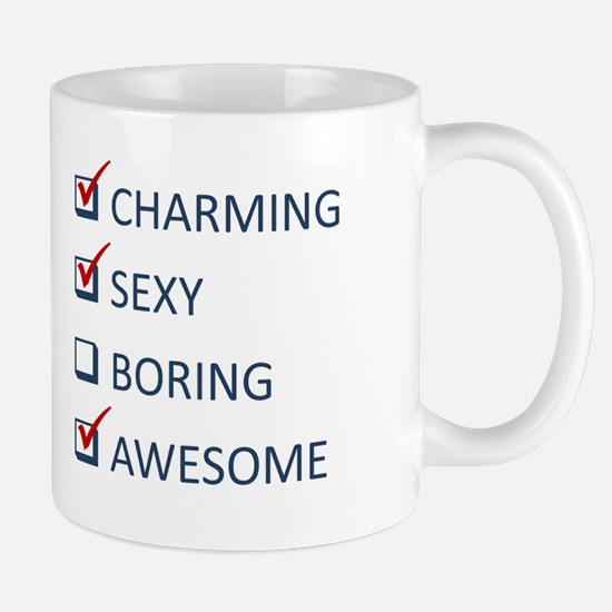 Charming Sexy Awesome Mug