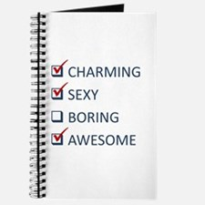Charming Sexy Awesome Journal