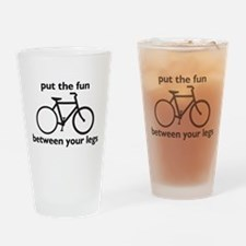 Bike: Fun Between Your Legs Drinking Glass