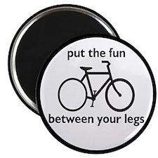Bike: Fun Between Your Legs Magnet