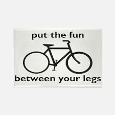 Bike: Fun Between Your Legs Rectangle Magnet
