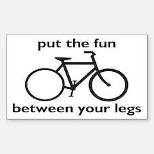 Bike: Fun Between Your Legs Decal