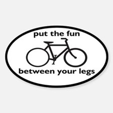 Bike: Fun Between Your Legs Decal