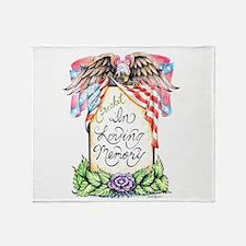 In Loving Memory Throw Blanket
