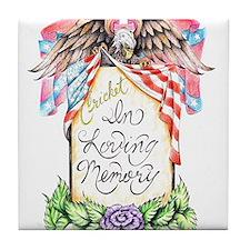 In Loving Memory Tile Coaster