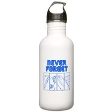Never Forget Water Bottle