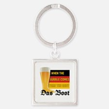 das_boot.tif Square Keychain