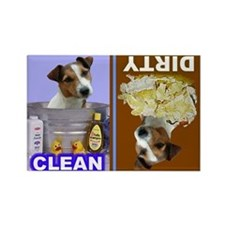 Dishwasher -RecMag -JackRussellTerrier Magnets