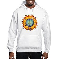 Peace Flower Hoodie