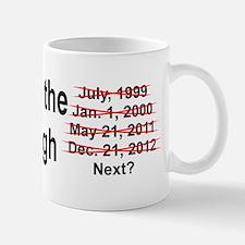 End of the World is Nigh bumper Mug