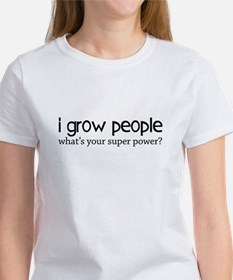 I Grow People, what's your superpower? Tee